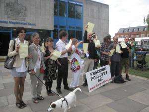 Campaigners celebrate successful challenge to police bail conditions