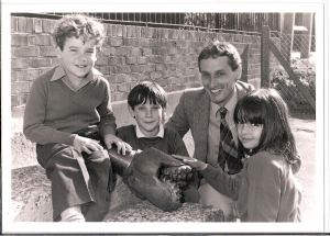Conoco donated its drill bit from the Balcombe-1 well to the village school
