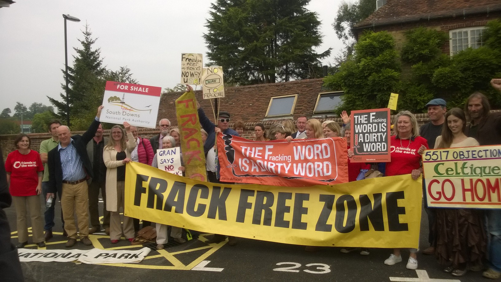 Campaigners celebrate rejection of South Downs drilling
