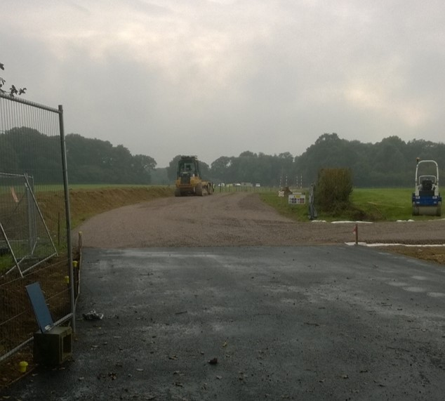 Preparation work at Broadford Bridge was carried out during the autumn