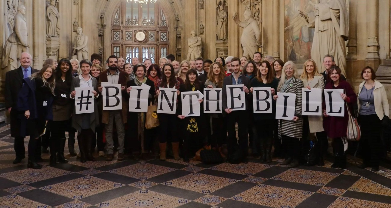 Campaigners from across the UK
