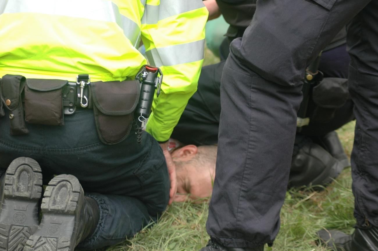 Balcombe arrest