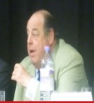Sir Nicholas Soames, speaking at Friends of the Earth's environmental hustings in Sussex. Picture by Jonoatlast