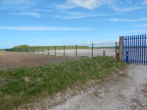 Cuadrilla's drilling compound at Becconsall in an area used by wintering ducks and geese