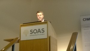 David Petrie, Communication Manager, UKOOG, on secondment from IGas