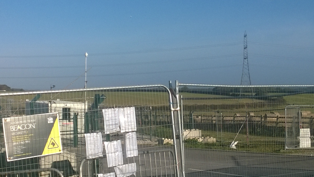 Rathlin Energy's Crawberry Hill site in East Yorkshire