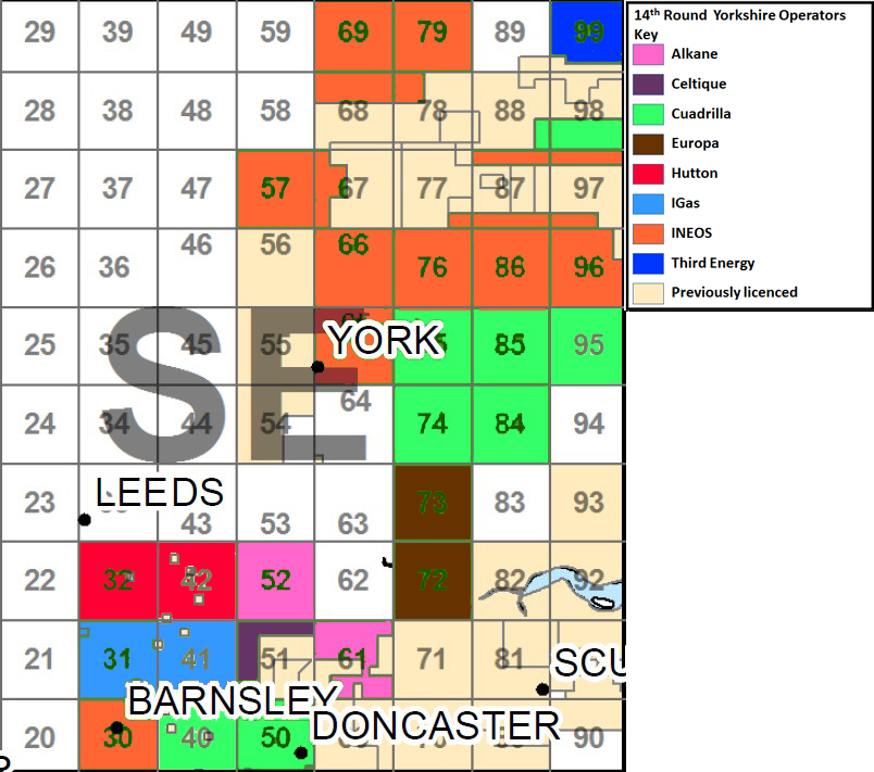 Yorkshire inland