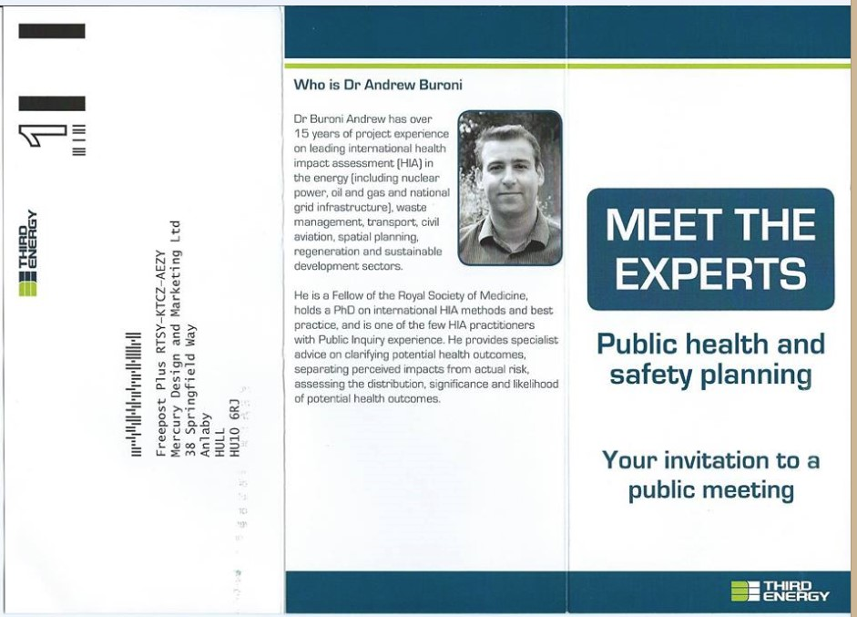 Meet the Experts invitation
