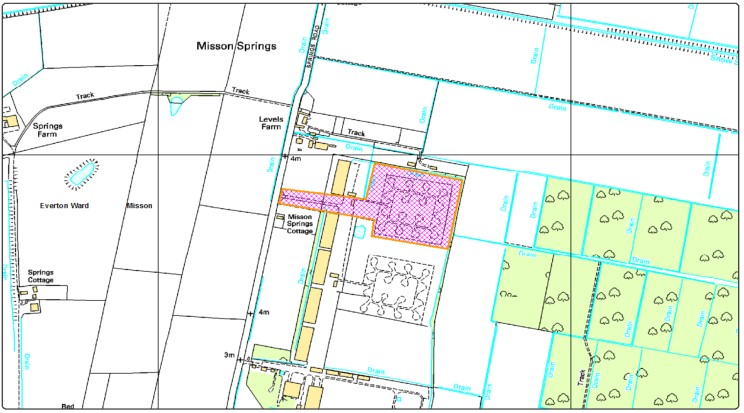 Misson Springs map