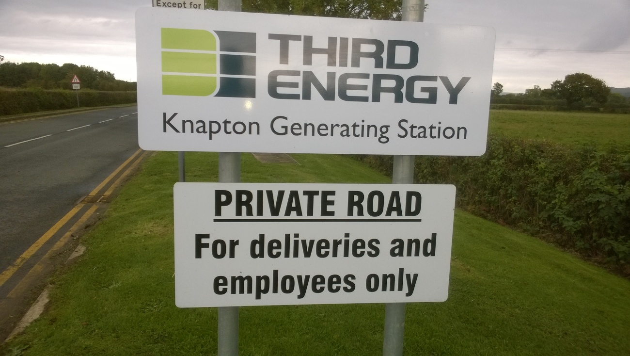 Knapton Generating Station