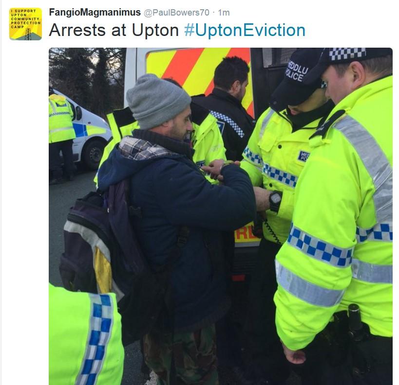 moe arrests