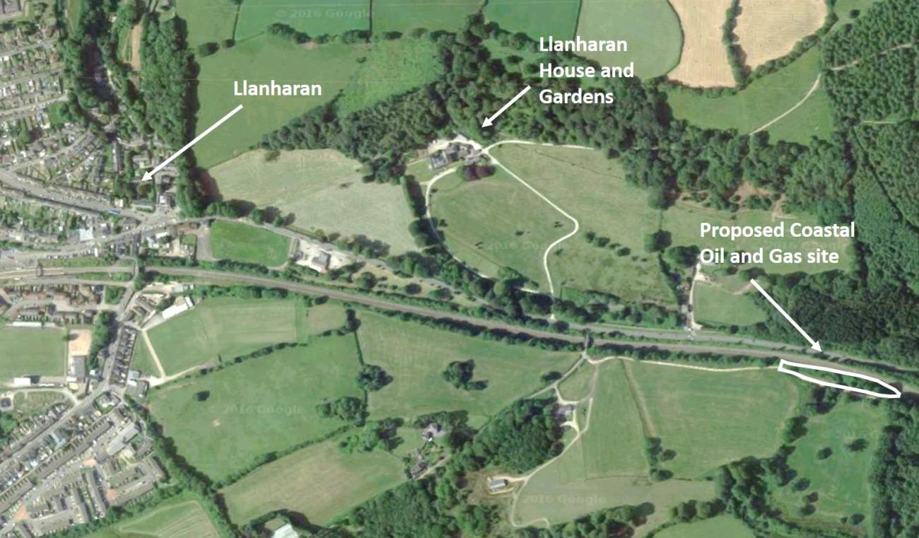 LlanharanAerial