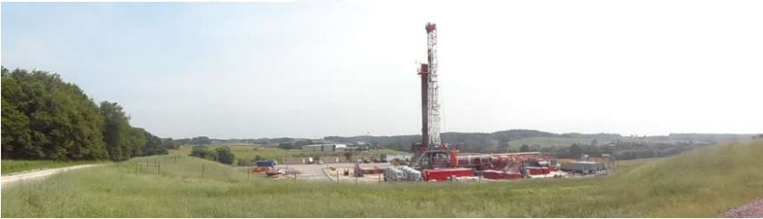 Shale Gas rig INEOS