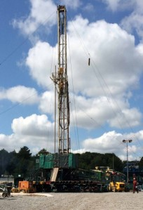 Wressle drilling 2014 Egdon