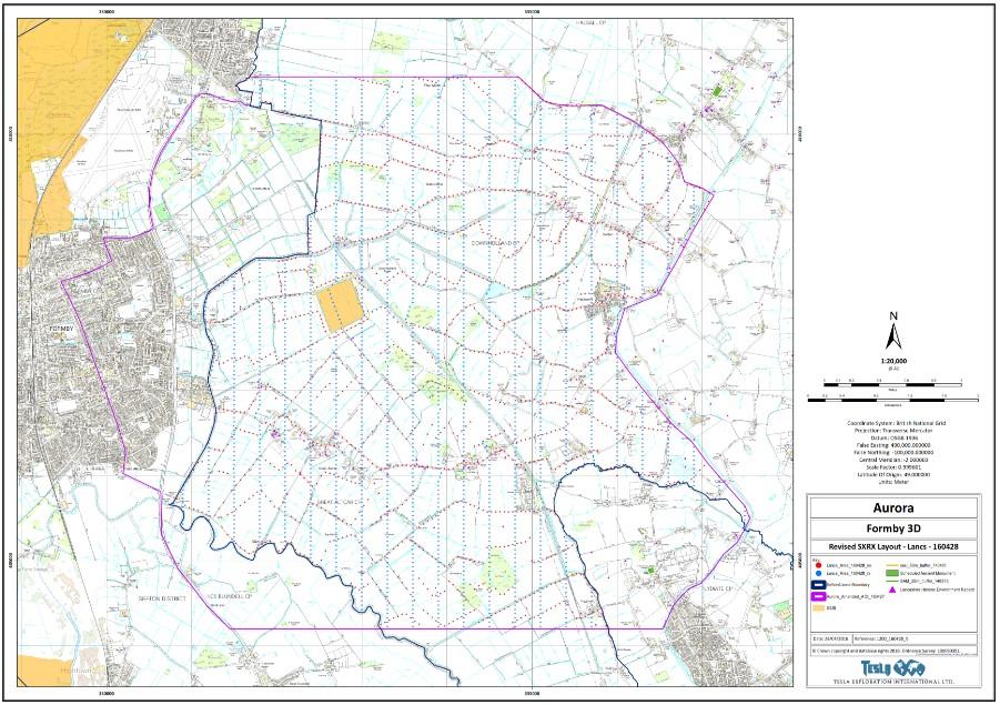 Aurora seismic testing updated