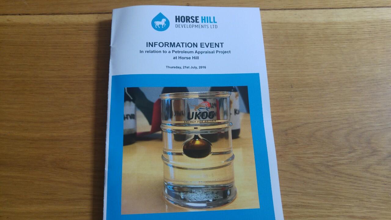 Horse Hill leaflet