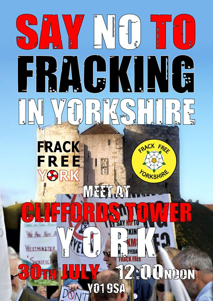 Say No to Fracking in Yorkshire