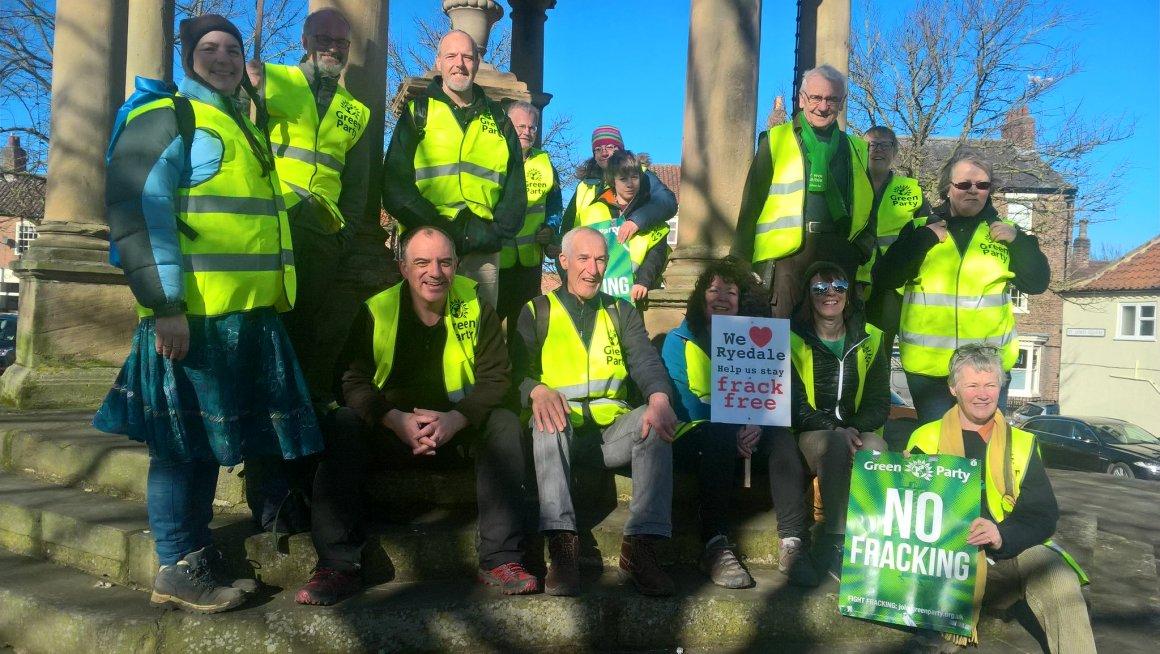 No fracking way Boroughbridge day Andrew Cooper