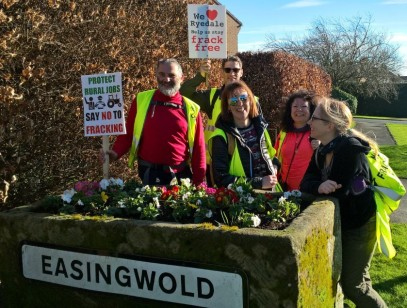 No fracking Way Easingwold day 1