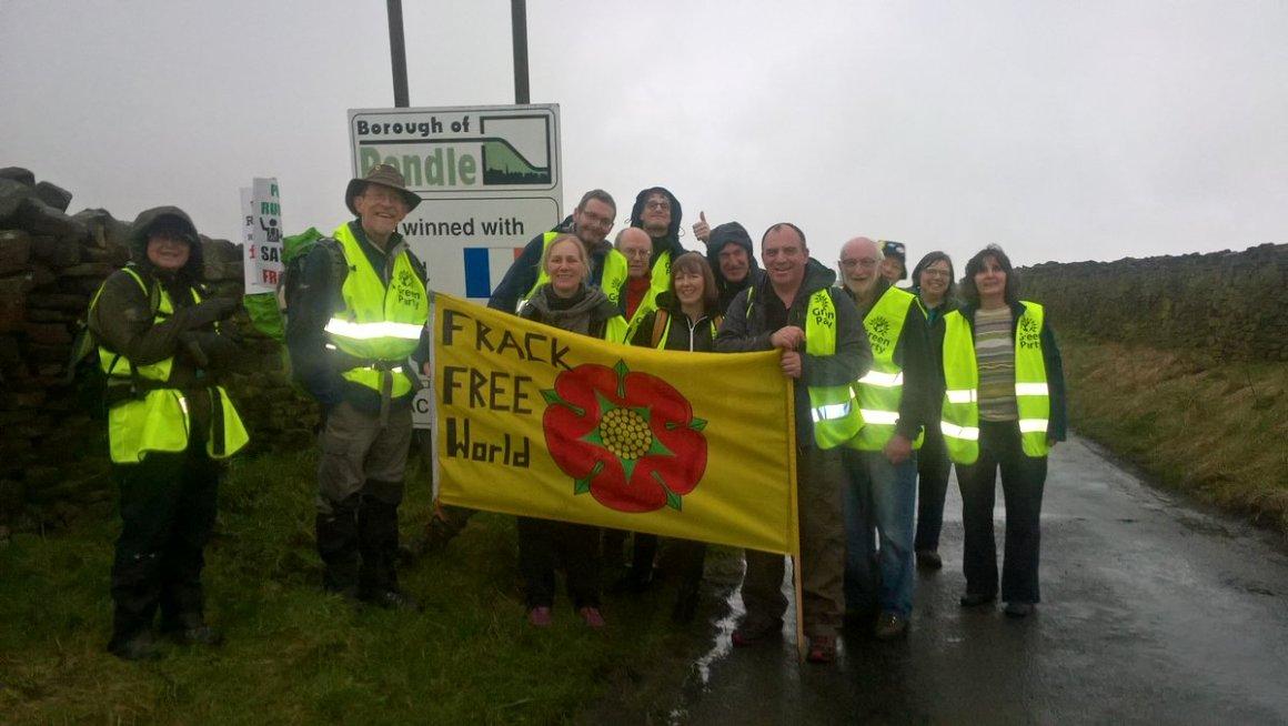 No fracking way Lancashire day 3