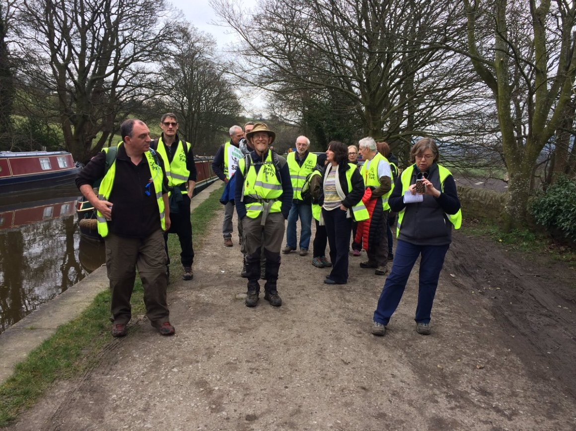 No fracking way Leeds Liverpool Canal day 3