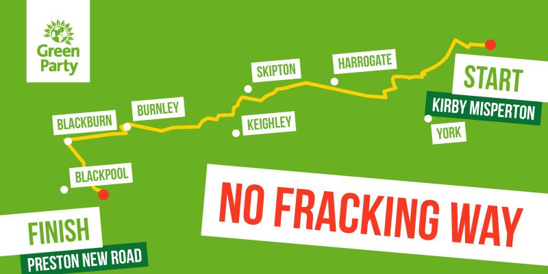 No fracking way map