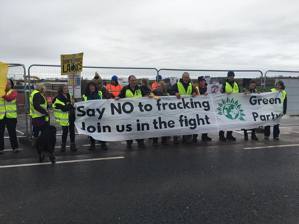 No Fracking Way Preston New Road Action Group day 5