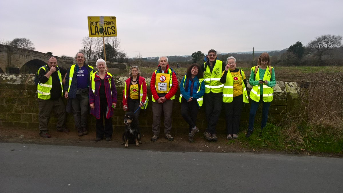 No Fracking Way Ribchester an hour from Longridge Day 4 Andrew Cooper