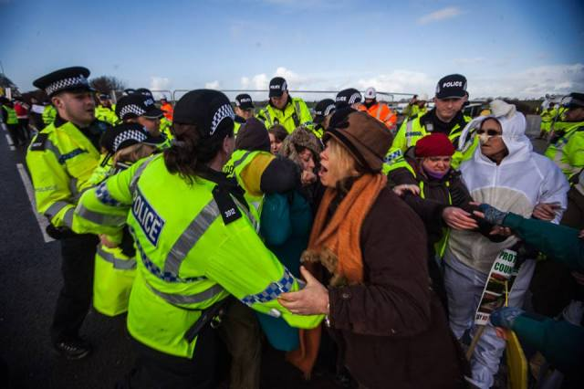 "Anti-fracking campaigners ""face daily violence"" in protest policing – new study"