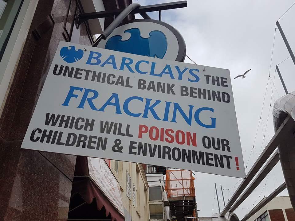 Barclays protest Ian Crane 170420