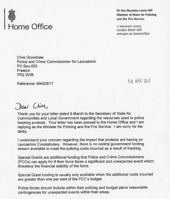 Home Office letter