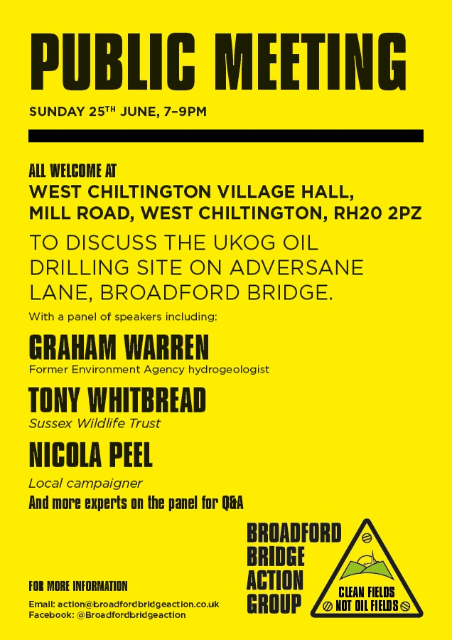 Broadford Bridge Action Group meeting