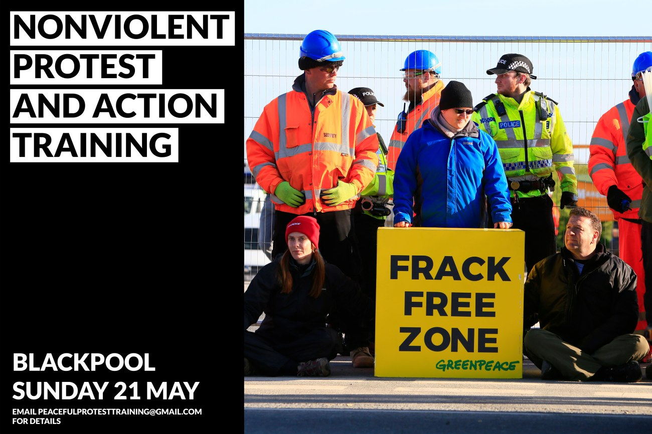 direct action training image