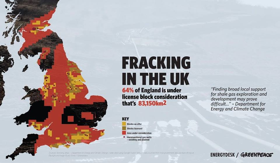 Fracking explained poster