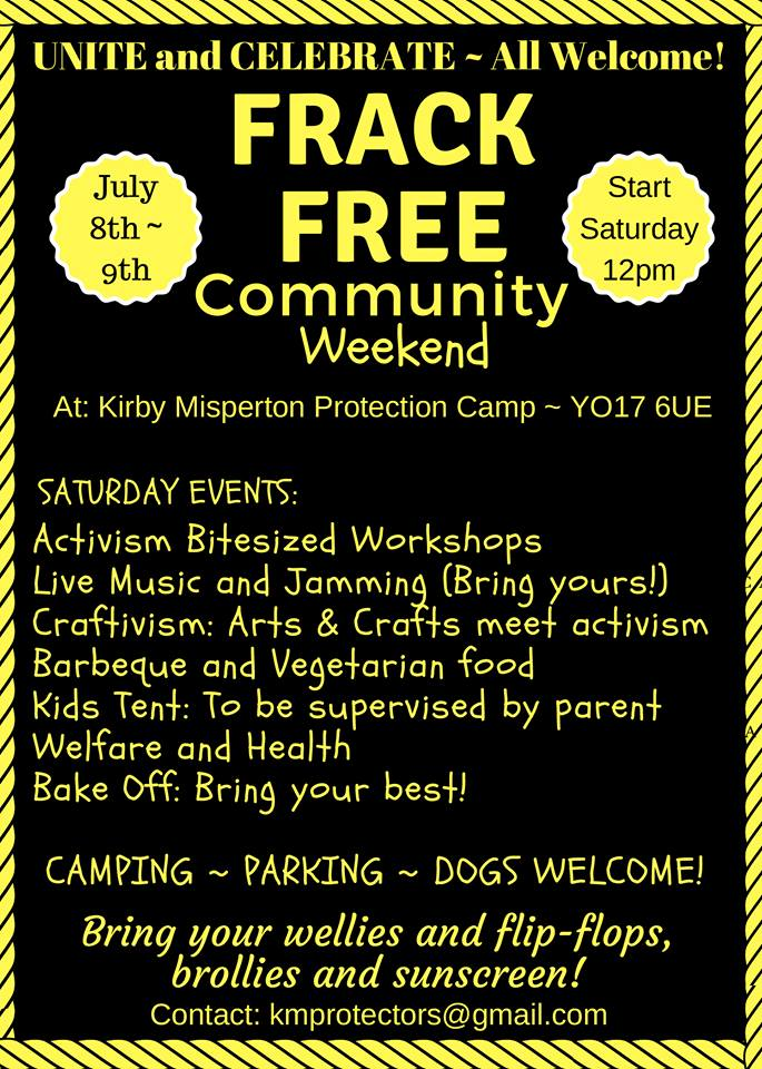KM protection camp community weekend 170708