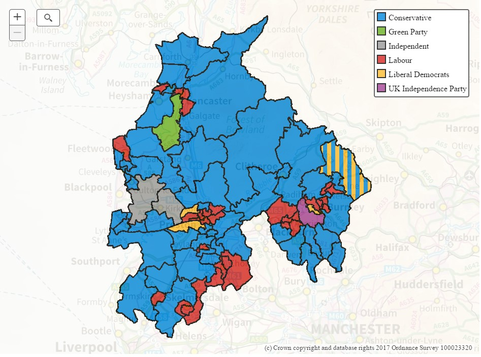 Map Of Uk Councils.Blue Look To Frontline Fracking Councils Drill Or Drop