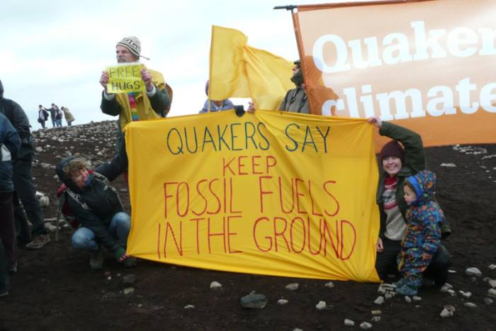 Quakers Against Fracking event