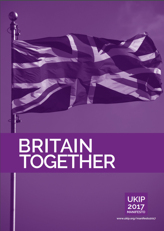 UKIP Manifesto cover