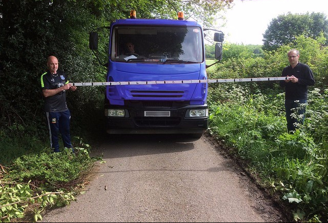 10 tonne lorry on Common Road Harthill Paul Rowland