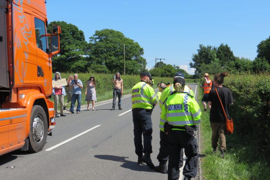 Broadford Bridge arrest 170601