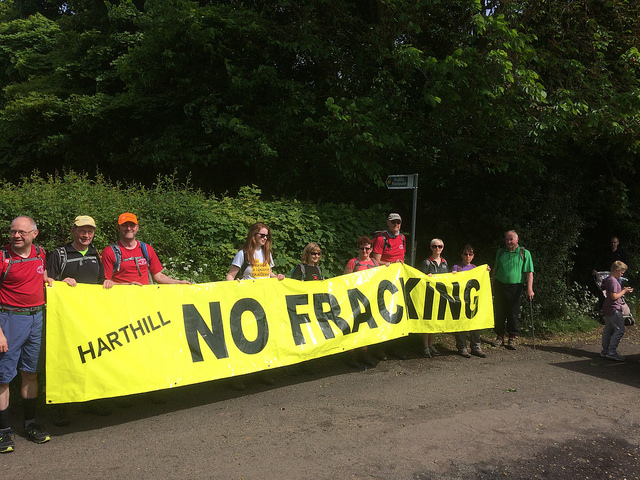 Common Road Harthill Harthill Against Fracking