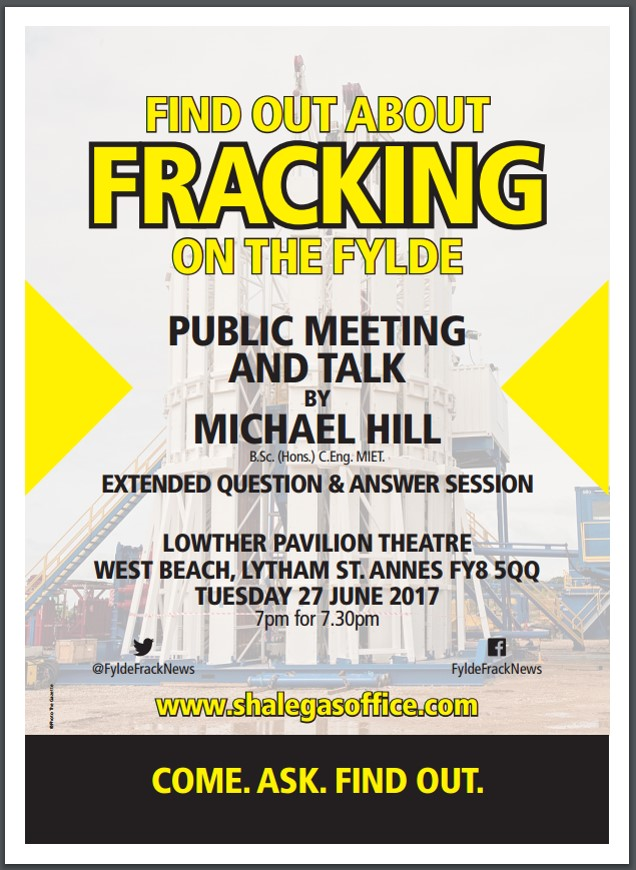 Fracking public meeting