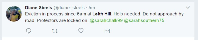 Leith hill tweet 1