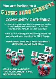 Kirby Misperton community gathering