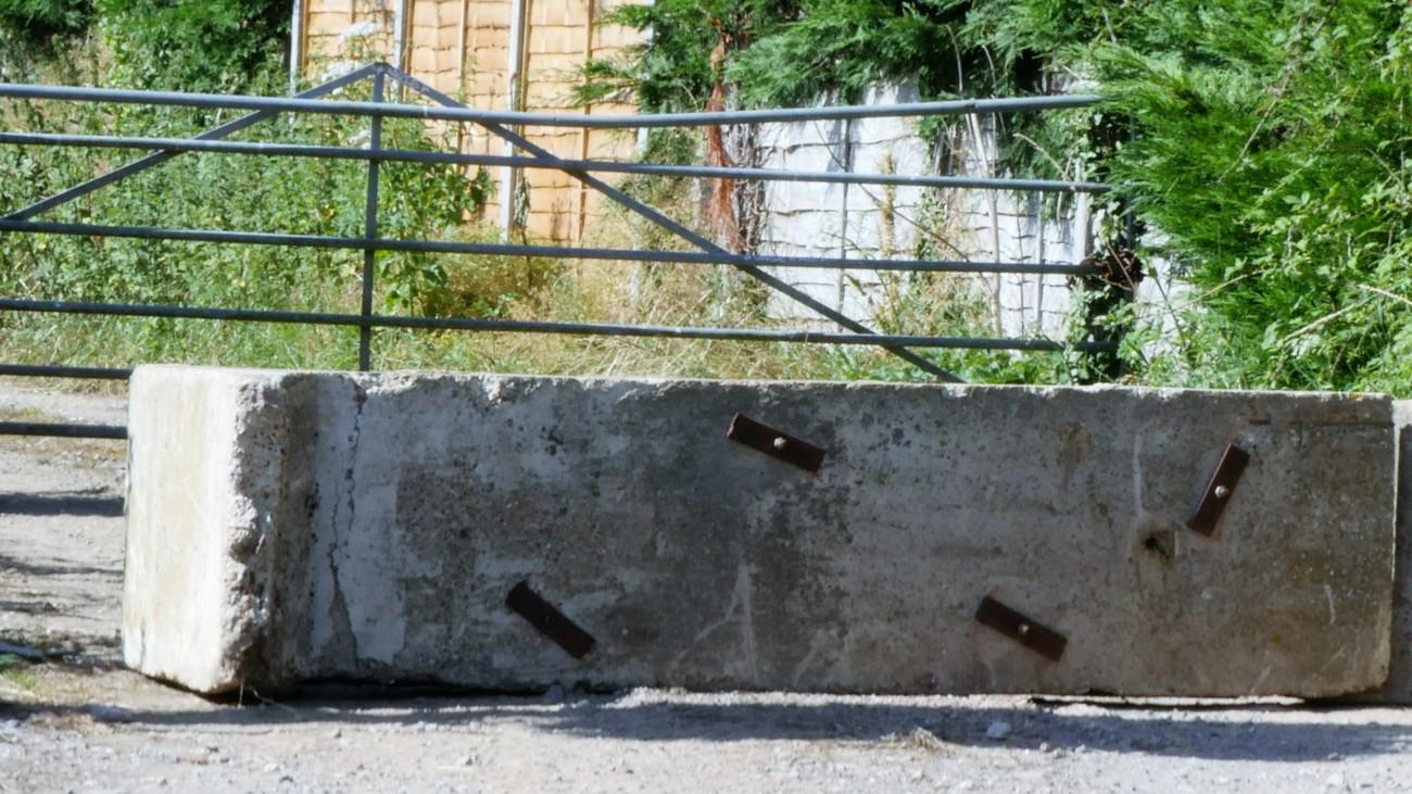 Lidsey concrete block Weald Oil Watch