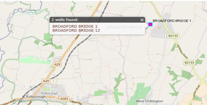 Broadford Bridge map