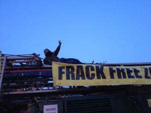 170907 Pease Pottage UKOG Rig Frack Free Sussex1