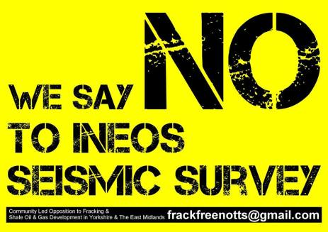 We say no to INEOS seismic surveys