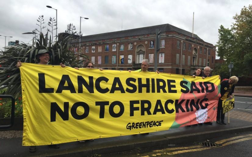 171001 Manchester Demo Frack Free Lancashire 1