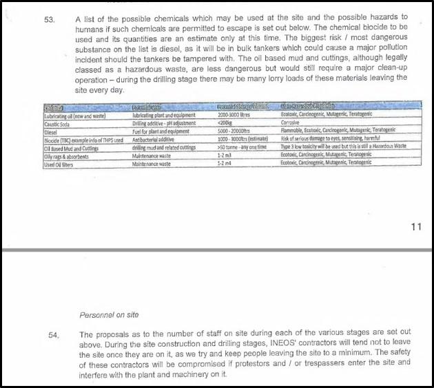 170723 Tom Pickering witness statement 2 extract 1